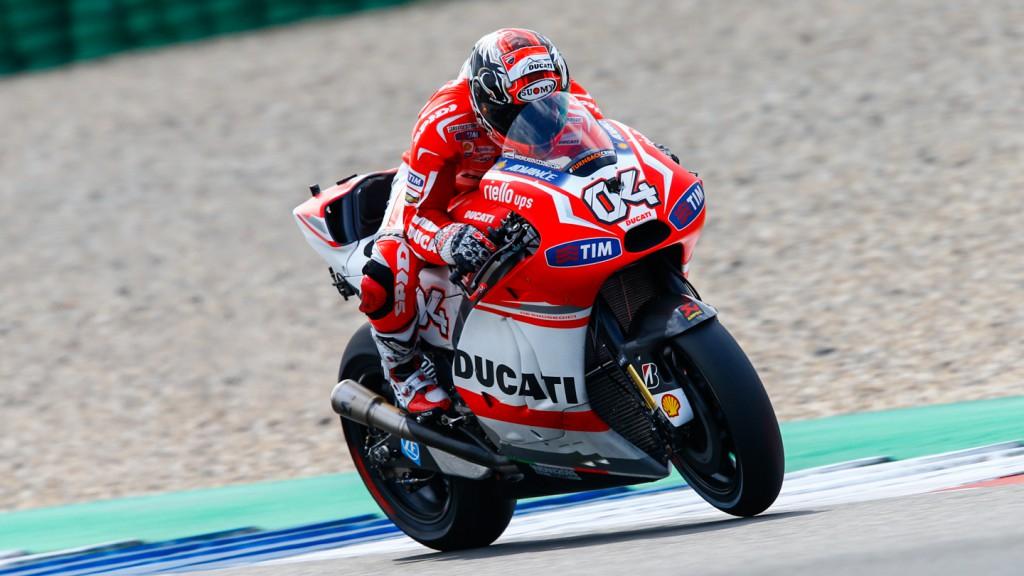 Andrea Dovizioso, Ducati Team, NED FP2
