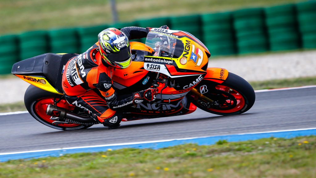 Colin Edwards, NGM Forward Racing, NED FP1