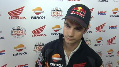 Pedrosa: 'I was more more comfortable in afternoon session'
