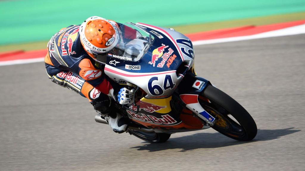 Bo Bendsneyder, Red Bull MotoGP Rookies Cup