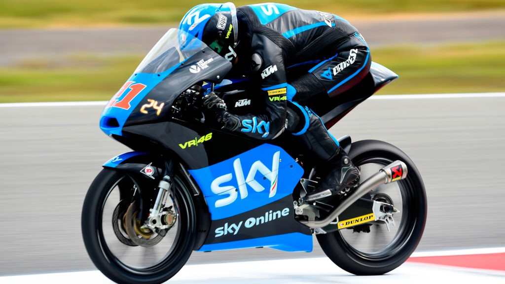Francesco Bagnaia, SKY Racing Team  VR46, NED FP2