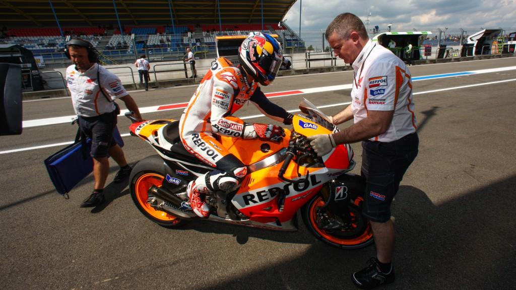 Dani Pedrosa, Repsol Honda Team, NED FP2