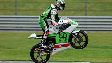 Enea Bastianini, Junior Team GO&FUN Moto3, NED FP2