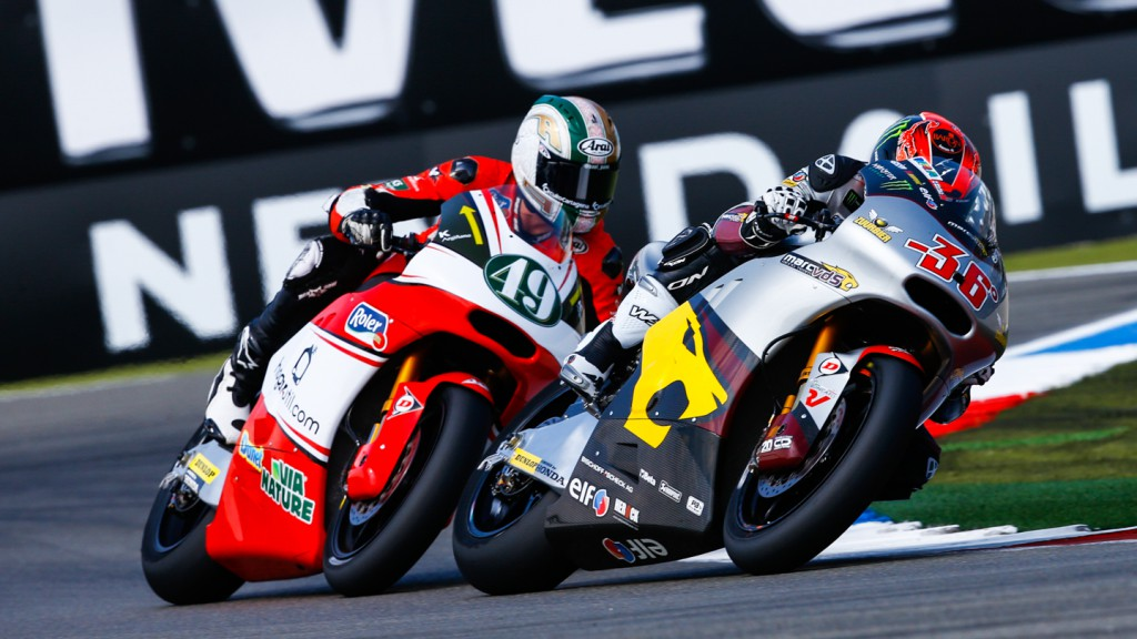 Mika Kallio, Axel Pons, AGR Team, Marc VDS Racing Team, NED FP1
