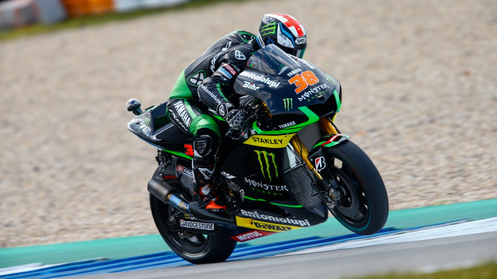Bradley Smith, Monster Yamaha Tech 3, NED FP1