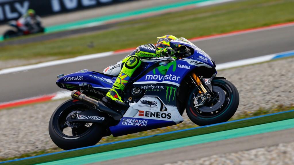 Valentino Rossi, Movistar Yamaha MotoGP, NED FP2