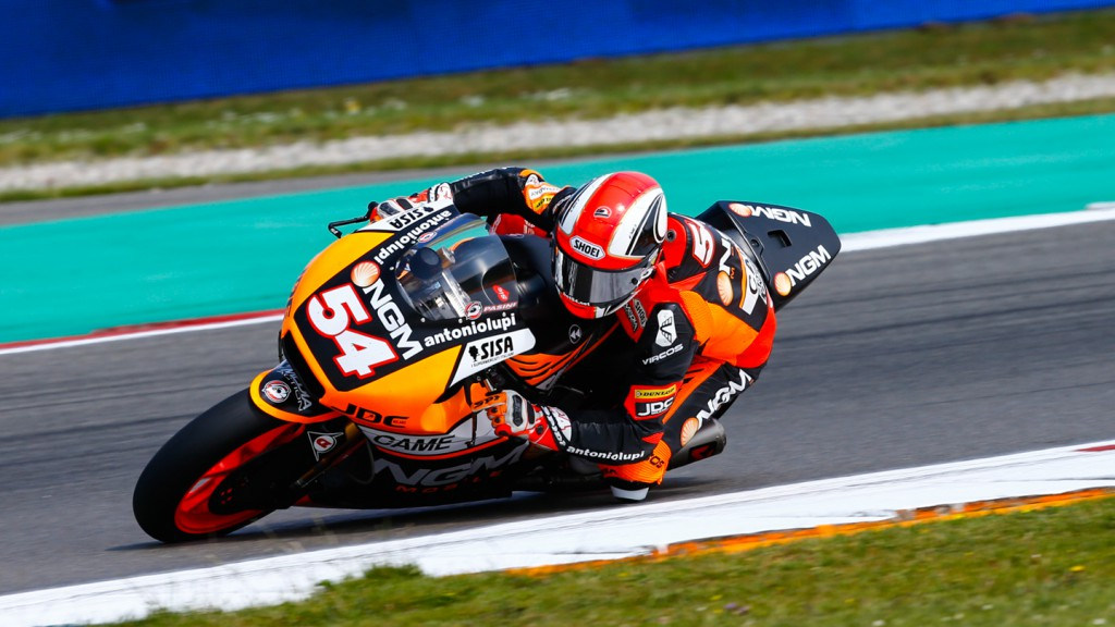 Mattia Pasini, NGM Forward Racing, NED FP2