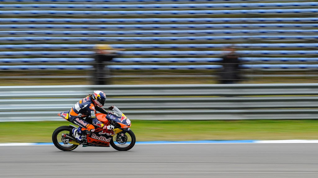 Karel Hanika, Red Bull KTM Ajo, NED FP2