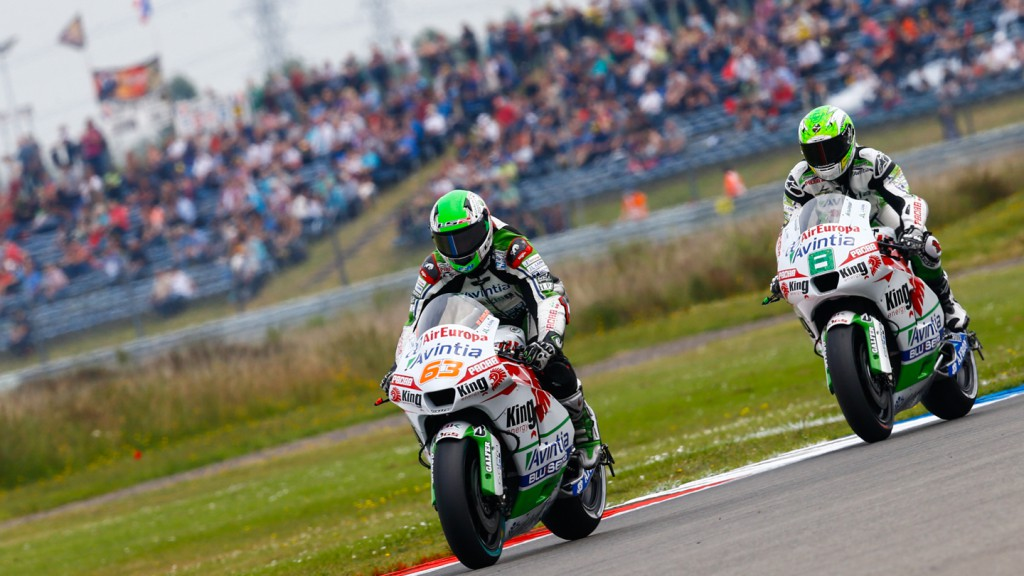 Hector Barbera, Mike Di Meglio, Avintia Racing, NED Q1