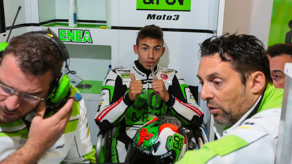 Enea Bastianini, Junior Team GO&FUN Moto3, NED QP