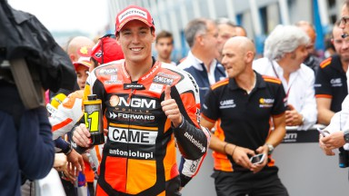 Aleix Espargaro, NGM Forward Racing, NED Q2