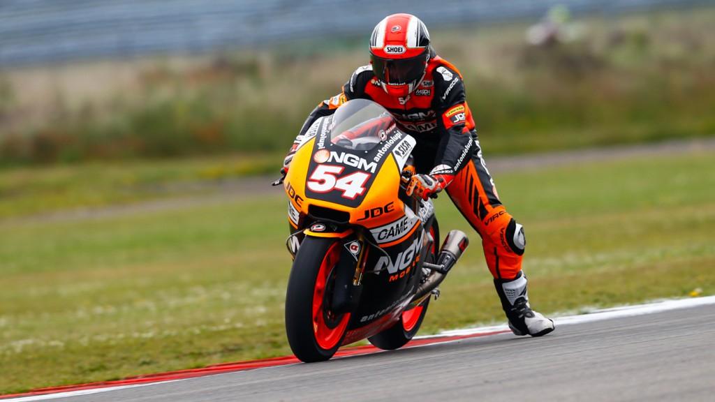 Mattia Pasini, NGM Forward Racing, NED QP