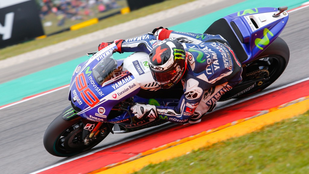 Jorge Lorenzo, Movistar Yamaha MotoGP, NED Q2