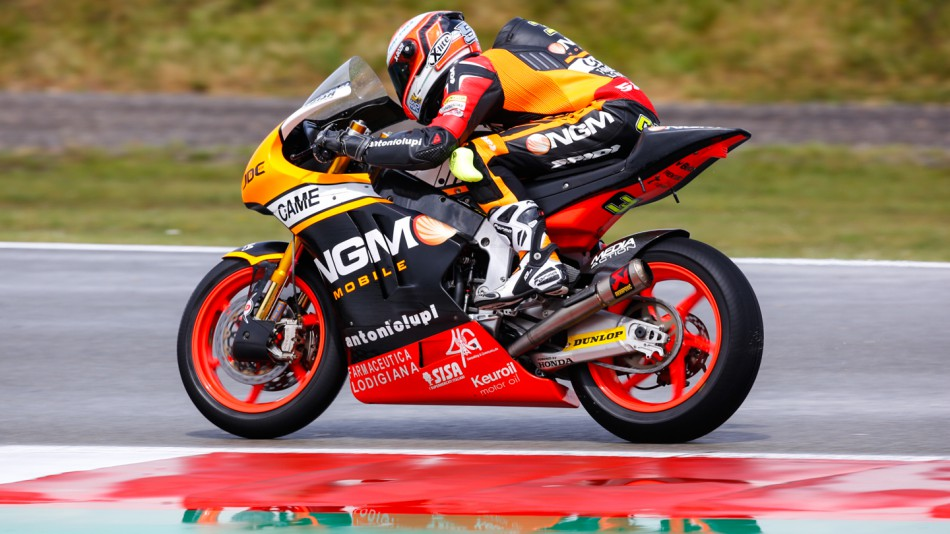 motogp.com · Simone Corsi, NGM Forward Racing, NED RACE