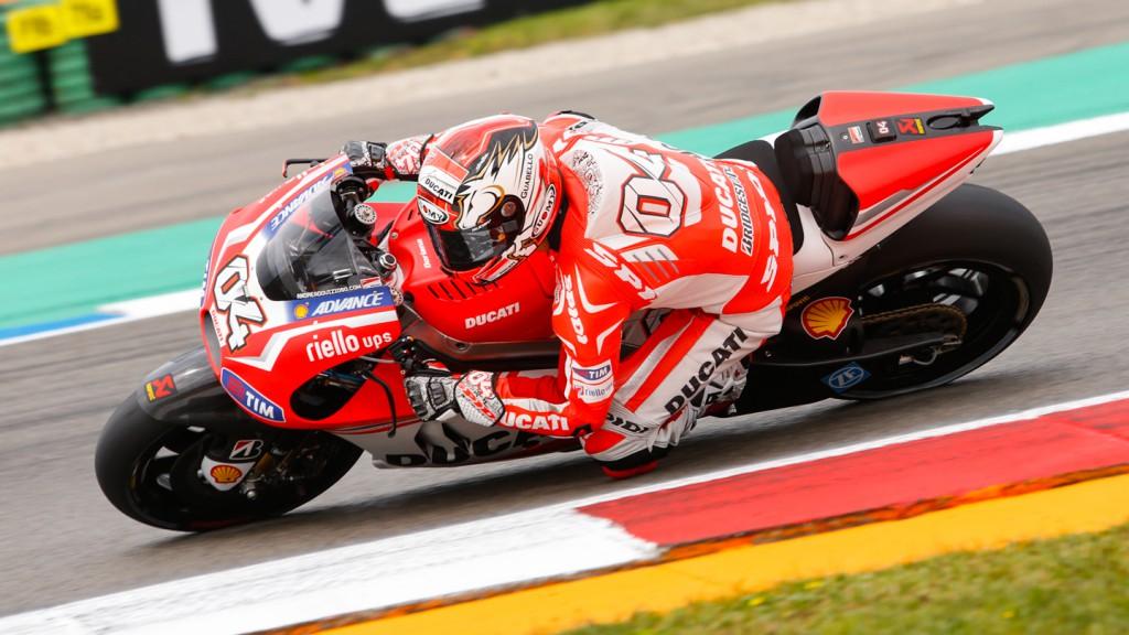 Andrea Dovizioso, Ducati Team, NED WUP