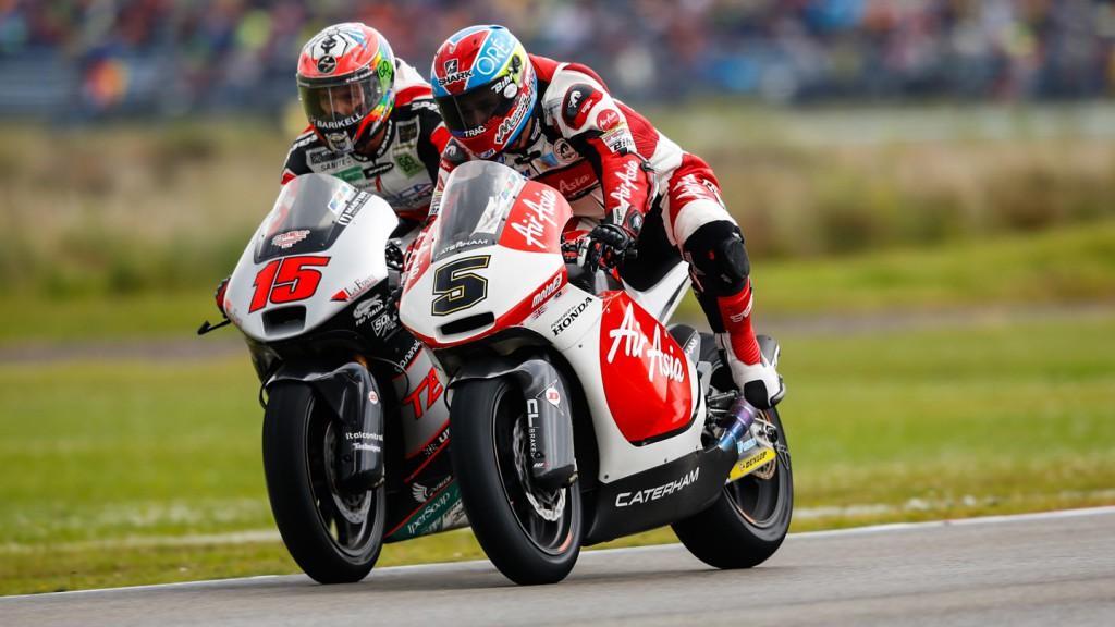 Alex De Angelis, Johann Zarco, AirAsia Caterham, Tasca Racing Moto2, NED RACE