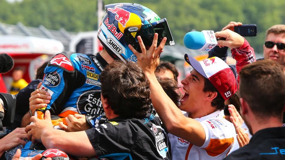 motogp.com · Marc Márquez & Alex Marquez, Estrella Galicia 0,0, NED RACE