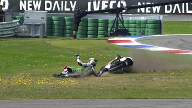 Assen 2014 - Moto3 - RACE - Action - Enea Bastianini - Crash