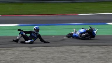 Assen 2014 - Moto3 - RACE - Action - Romano Fenati - Crash