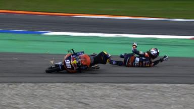 Assen 2014 - Moto3 - RACE - Action - Karel Hanika - Crash