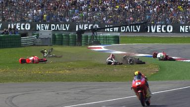 Assen 2014 - Moto3 - RACE - Action - Incident at Turn 17
