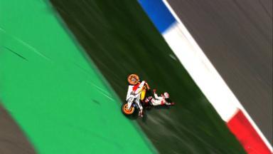 Assen 2014 - MotoGP - WUP - Action - Marc Marquez - crash