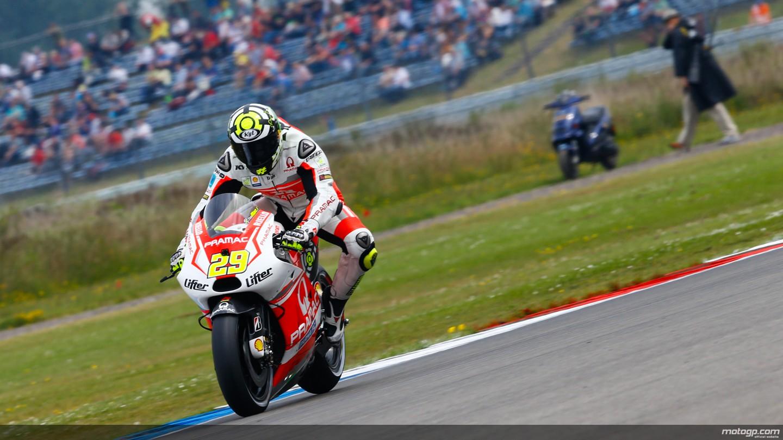 motogp.com · Andrea Iannone, Pramac Racing, NED WUP