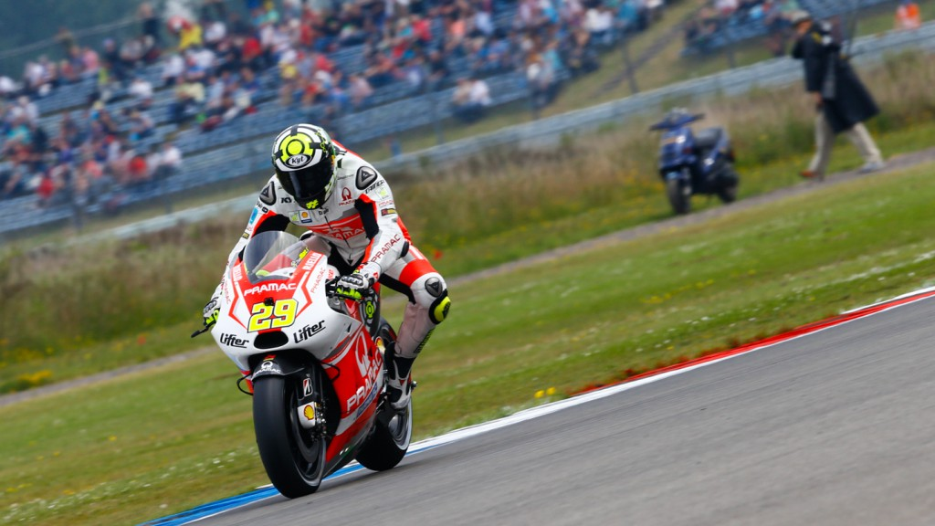 Andrea Iannone, Pramac Racing, NED WUP