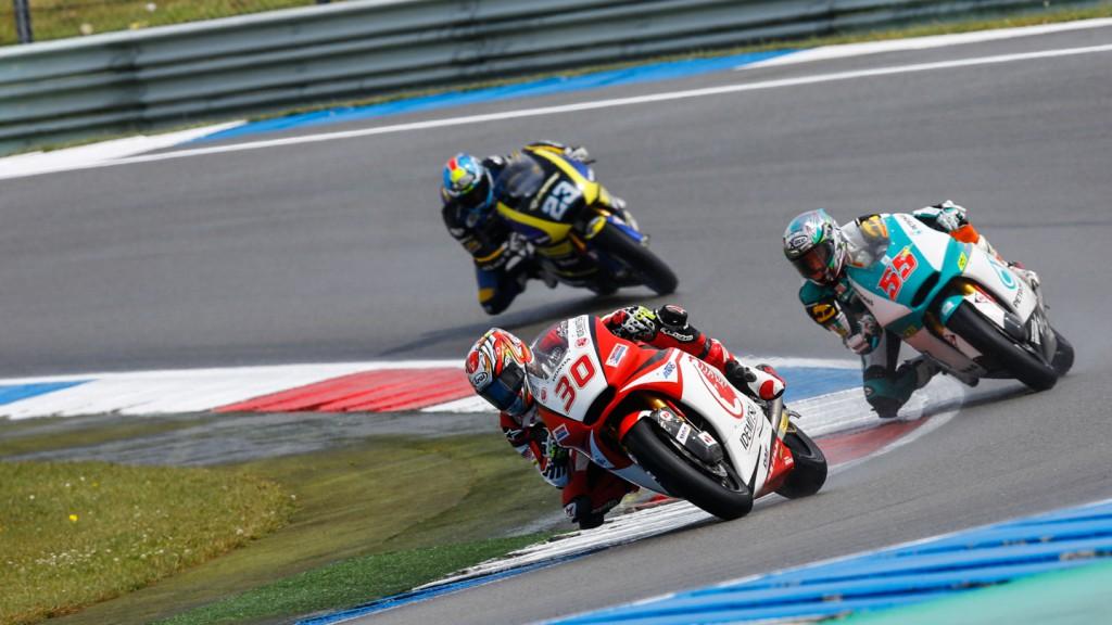 Takaaki Nakagami, Hafizh Syahrin, IDEMITSU Honda Team Asia, Petronas Raceline Malaysia, NED RACE