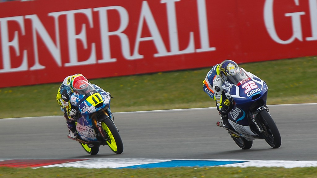 Brad Binder, Isaac Viñales, Ambrogio Racing, Calvo Team, NED RACE