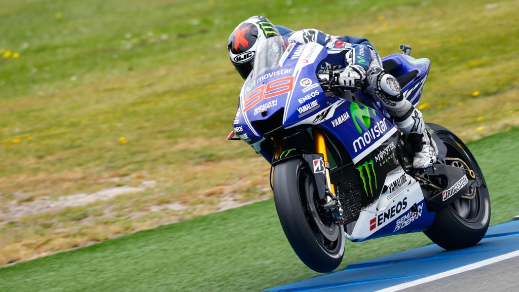 Jorge Lorenzo, Movistar Yamaha MotoGP, NED WUP