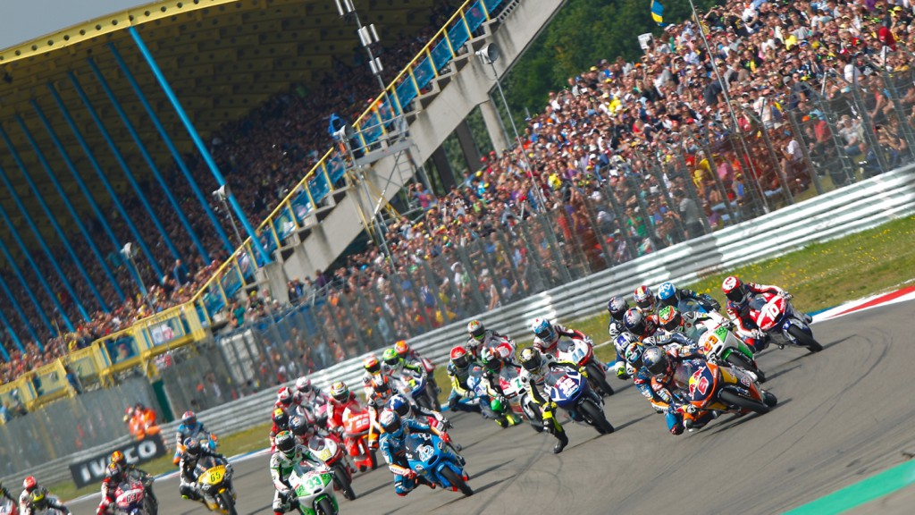 Moto3 Start, NED RACE