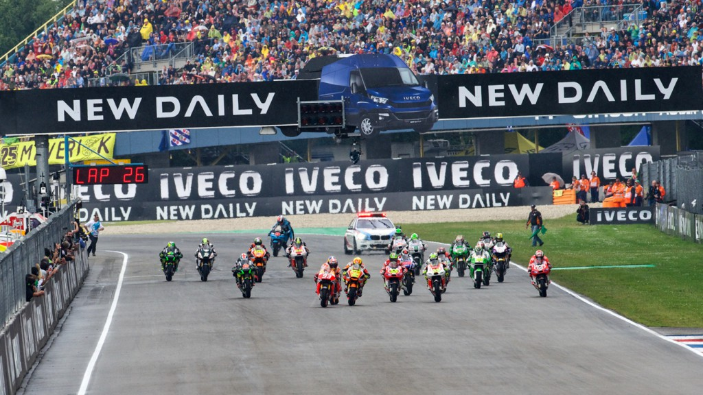MotoGP Start, NED RACE