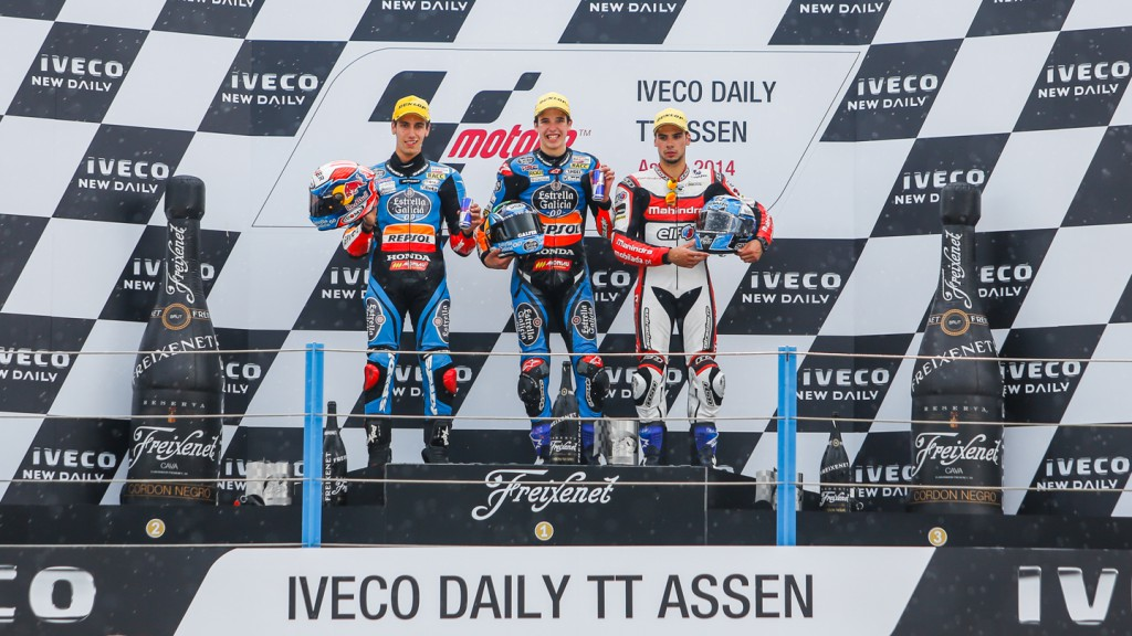 Podium Moto3, NED RACE