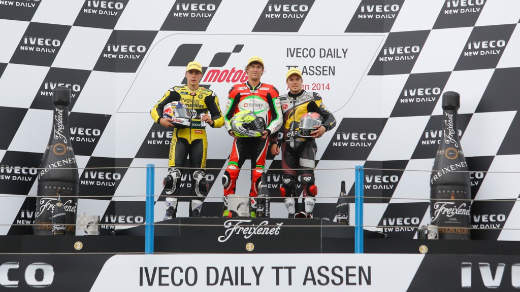 Moto2 Podium, NED RACE