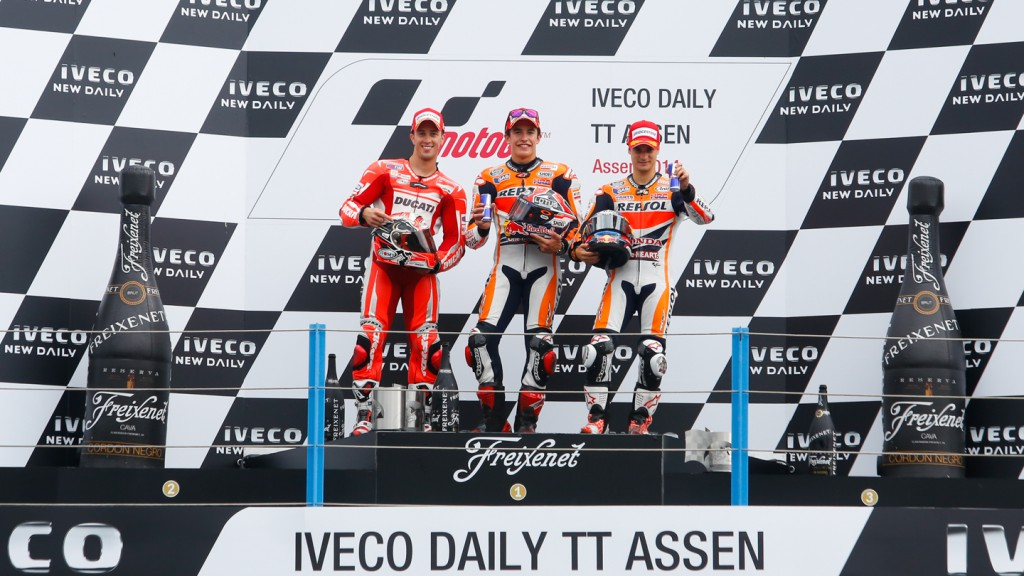 MotoGP Podium, NED RACE