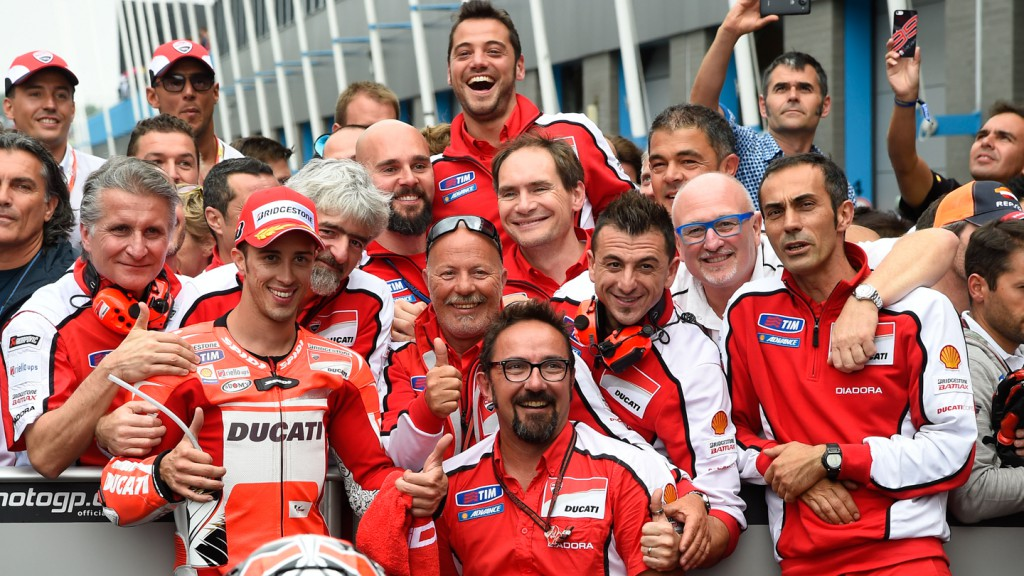 Andrea Dovizioso, Ducati Team, NED RACE