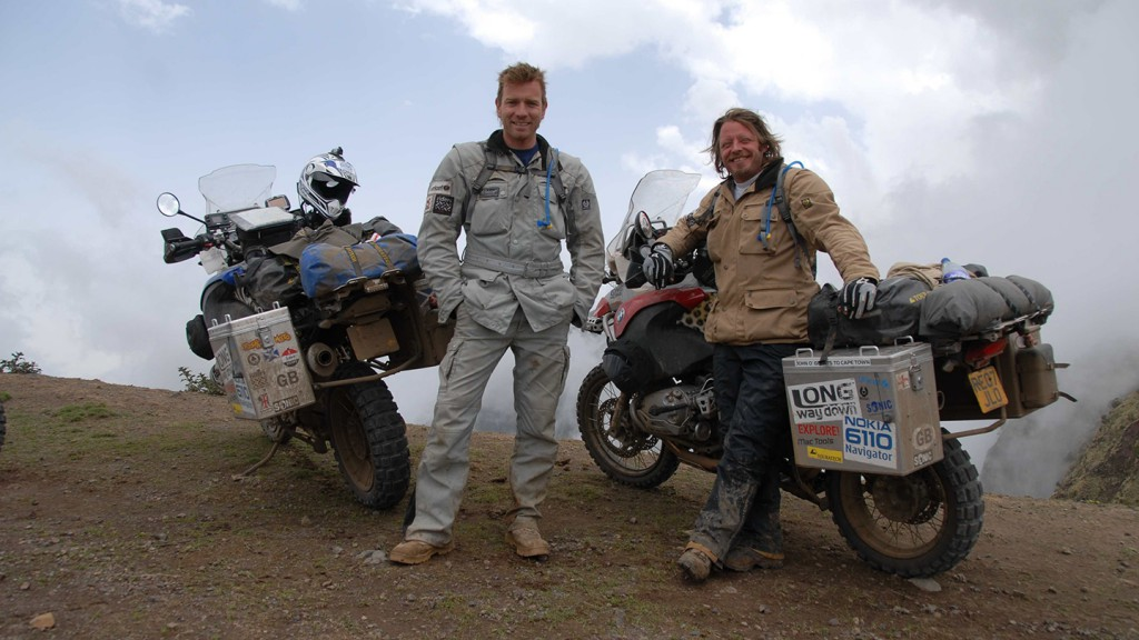 Ewan McGregor & Charley Boorman motorcycle adventurers