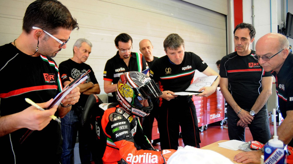 Max Biaggi, Aprilia Racing - Mugello July Test