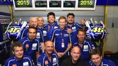 Rossi set to continue with Yamaha for two more years