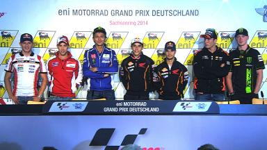 eni Motorrad Grand Prix Deutschland: Pre-event Press Conference