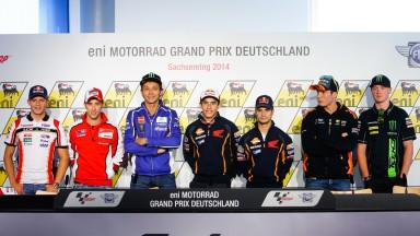eni Motorrad Grand Prix Deutschland Press conference
