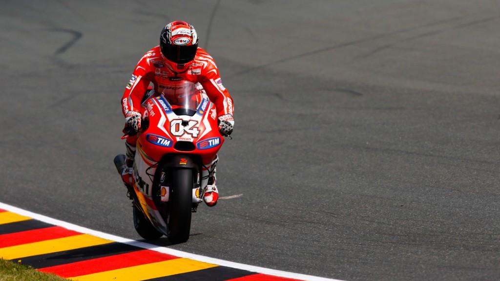 Andrea Dovizioso, Ducati Team, GER FP2