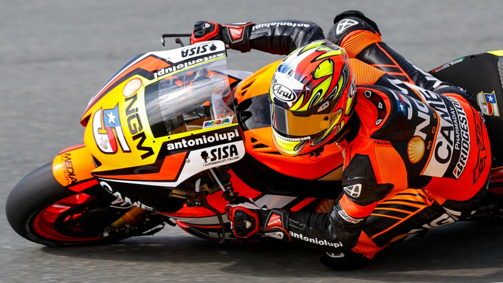 Colin Edwards, NGM Forward Racing, GER FP2