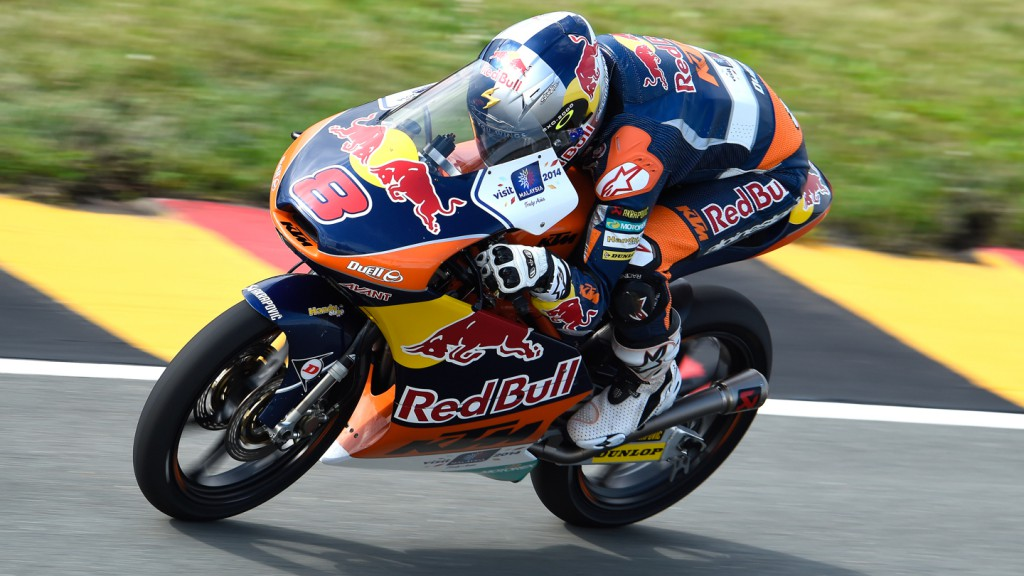 Jack Miller, Red Bull KTM Ajo, GER FP2