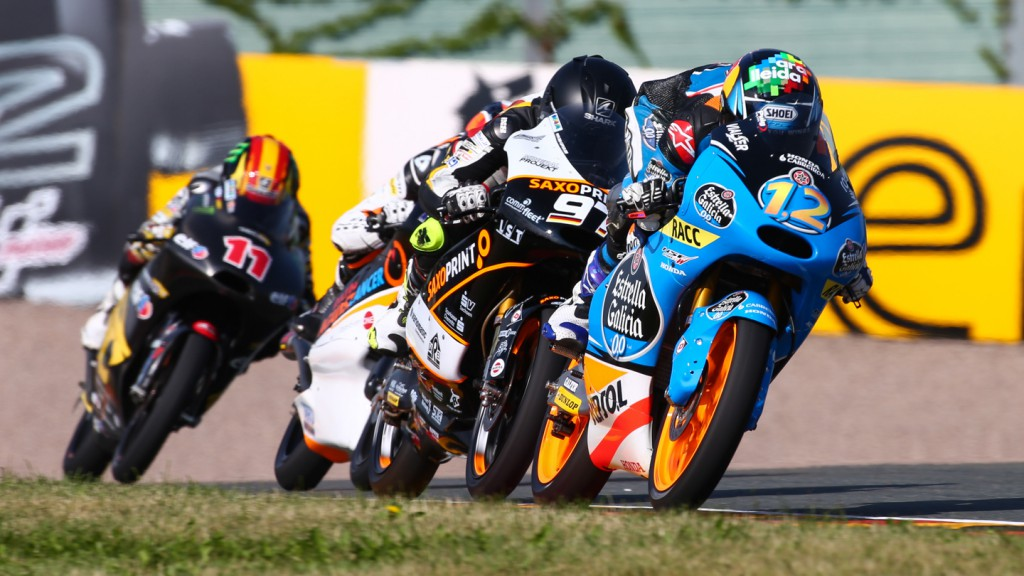Moto3 Action, GER FP2