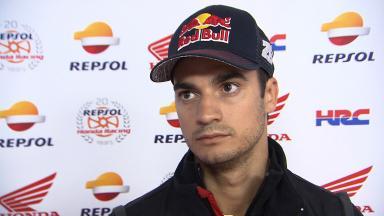 Unscathed Pedrosa explains Sachsenring free practice crash