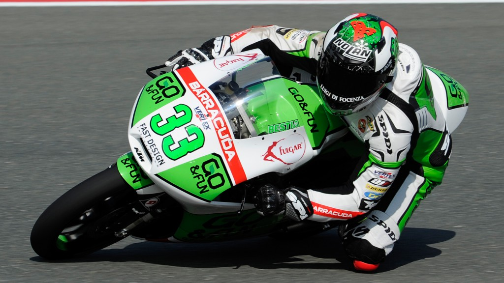Enea Bastianini, Junior Team GO&FUN Moto3, GER FP2