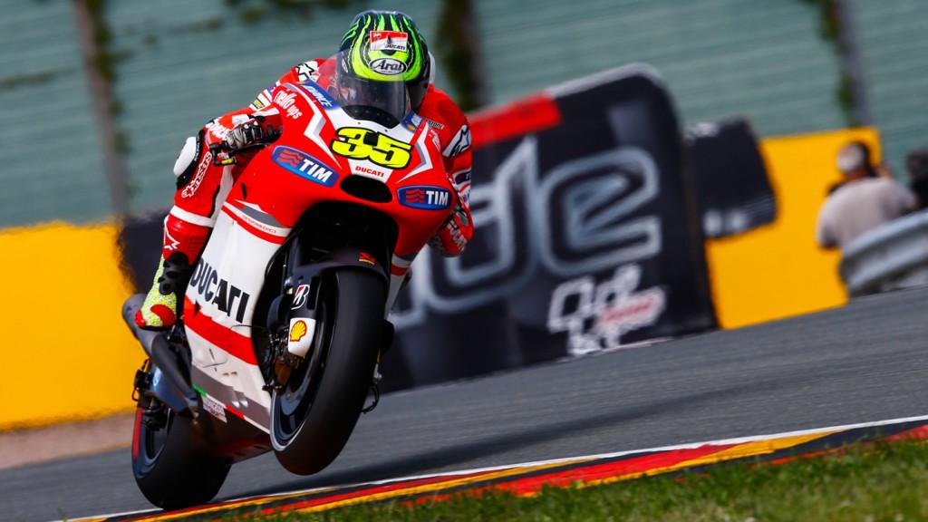 Cal Crutchlow, Ducati Team, GER FP2