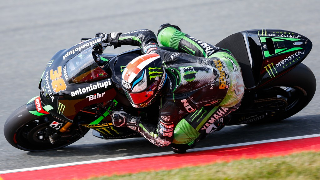 Bradley Smith, Monster Yamaha Tech 3, GER FP2